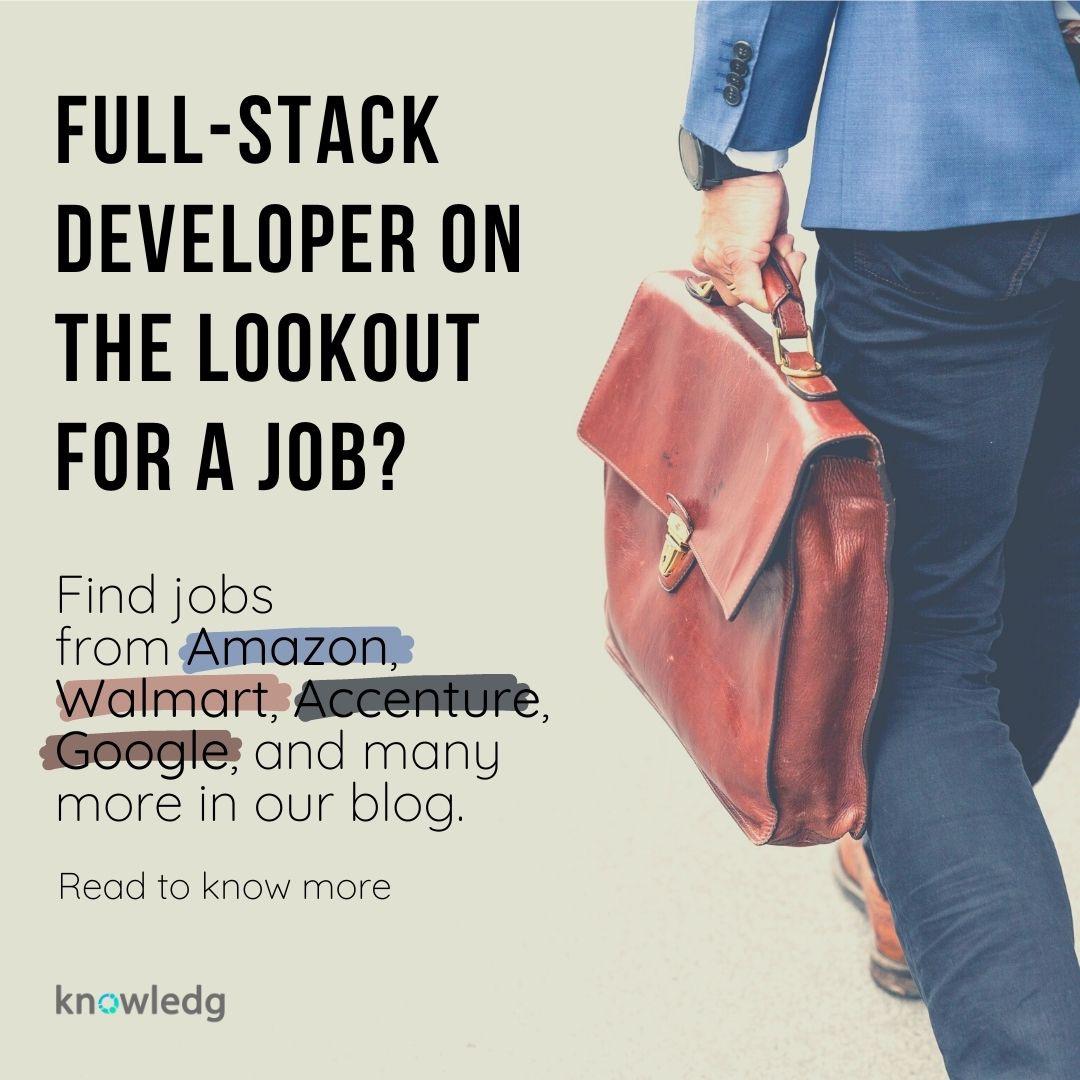 Full Stack Developer Job Postings